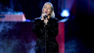 Schwangere Christina Aguilera zieht erneut blank