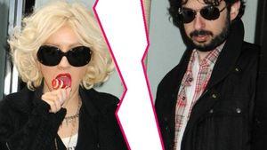Christina Aguilera und Jordan Bratman