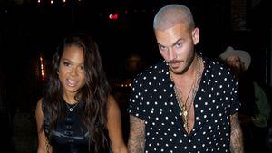 Nicht Brandon: Mit wem hält Christina Milian hier Händchen?