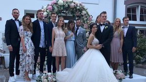 Kicker-Star Matthias Ginter hat Christina nochmal geheiratet