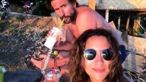 Turtelurlaub: Hier entspannt GZSZ-Chryssanthi mit Tom Beck!