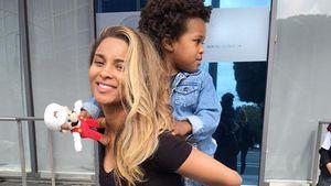 Ciara mit ihrem Söhnchen Future Jr.