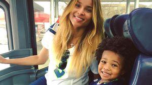 Ciara und ihr Söhnchen Future Jr.