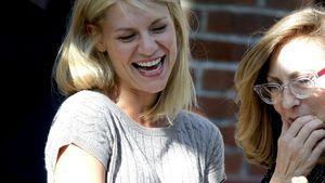 """Claire Danes beim Dreh der sechsten """"Homeland""""-Staffel"""