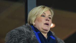 Claudia Effenberg im Stadion vom SC Paderborn 2016