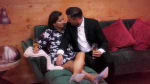 """Jubeln alle"": Claudia Oberts Umfeld feiert ihre Datingshow"