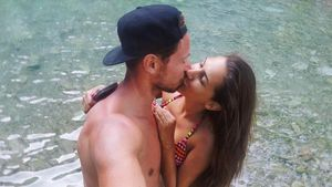 Clea-Lacy Juhn und Sebastian Pannek im Urlaub