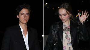 Cole Sprouse nach Golden Globes mit Lily-Rose Depp unterwegs