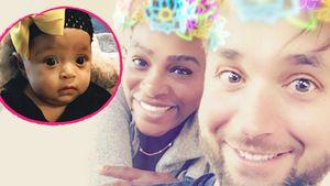 Ernsthaft? Serena Williams' Mann redet mit Baby über Politik