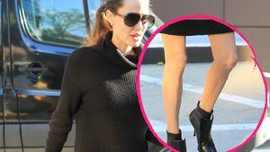 Noch dünner als sonst: Angelina Jolie zeigt XXS-Schenkel!