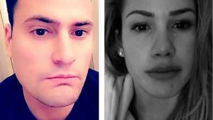 Schauspieler Rocco Stark und TV-Star Angelina Heger