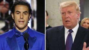 """Trump """"arbeitslos"""": Sacha Baron Cohen zieht Angebot zurück"""