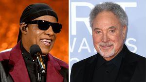 """""""Ich liebe dich"""": Stevie Wonder rührt Tom Jones zu Tränen"""