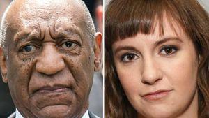 Bill Cosby und Lena Dunham