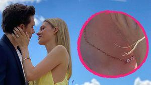Liebesbeweis: Brooklyn Beckham trägt Nicola-Peltz-Halskette