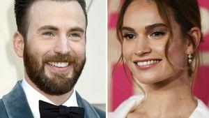 Erwischt: Was läuft zwischen Chris Evans und Lily James?