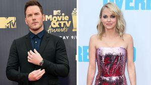 Chris Pratt erzählte Ex Anna Faris per SMS von Verlobung