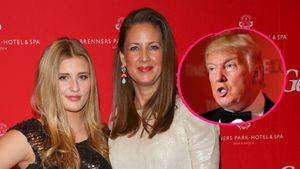 Luna & Dana Schweiger und Donald Trump