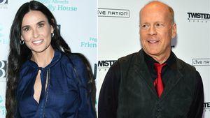Patchwork-Glück: Demi Moore & Bruce Willis mit ganzer Family