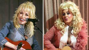 Schräger Anblick! Adele imitiert ihr Musik-Idol Dolly Parton