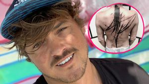 "Warum? ""Prince Charming""-Dominics Rücken ziert XXL-Tattoo"