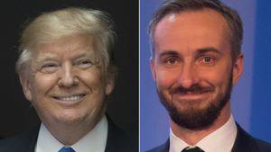 Donald Trump und Jan Böhmermann