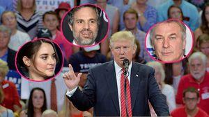 Donald Trump und Shailene Woodley, Mark Ruffalo & Alec Baldwin