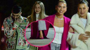 Sängerin Dua Lipa: Ist dieser Mantel nicht etwas zu lang?