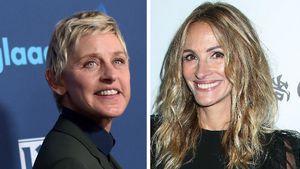 Hilfreich: Ellen DeGeneres gibt Julia Roberts Insta-Tipps!
