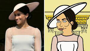 """Große Ehre! Herzogin Meghan hat jetzt einen """"Simpsons""""-Twin"""
