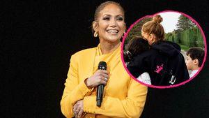 Jennifer Lopez postet niedliches Bild mit ihren Zwillingen