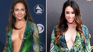 "J.Lo-Double: ""Awkward""-Star im berühmten Versace-Dress?"