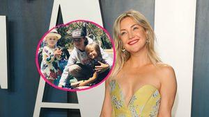 Alle drei vereint: Kate Hudson teilt Foto von ihren Kindern!