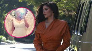 Kylie Jenner zeigt Throwback-Pic von ihrer Schwangerschaft