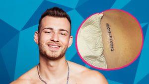 "Tatsächlich! Luca lässt sich ""Love Island""-Tattoo stechen"
