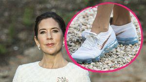 Ganz schön lässig: Mary von Dänemark überrascht in Sneakers!