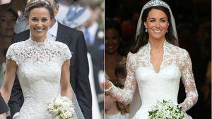 Pippa vs. Kate im Traum in Weiß: Welche Braut war schöner?