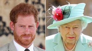Wegen Meghans Diadem: Schrie Prinz Harry etwa die Queen an?
