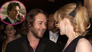 Nicole Kidman und Russell Crowe, oben eingekreist Tom Cruise