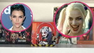 Margot Robbie (r.) wurde im Comic-Shrine von Ruby Rose (l.) verewigt