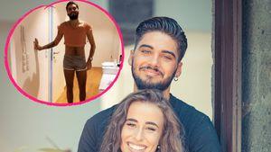 In Frauenklamotten: Davide will Siria seine Liebe beweisen!