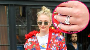 Mega-Klunker: Sophie Turner trägt Verlobungsring spazieren!