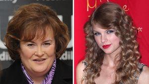 Susan Boyle haut Taylor Swift von Platz 1