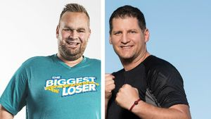 """The Biggest Loser""-Julian schwärmt von Trainer Ramin Abtin!"