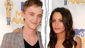 Tom Felton und Jade Gordon