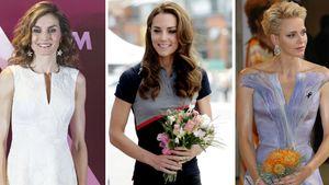 Königin Letizia, Herzogin Kate und Prinzessin Charlene