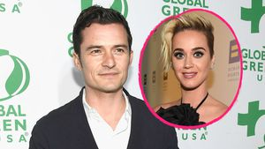 Collage von Orlando Bloom und Katy Perry