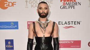 Fetisch-Look? Conchita Wurst bei der Goldenen Kamera