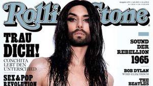 Freizügige Diva: Conchita Wurst posiert oben ohne!