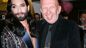 "Conchita Wurst und Jean Paul Gaultier bei der ""THE ONE Grand Show"" in Berlin"